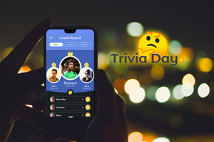 Play trivia games online for free!